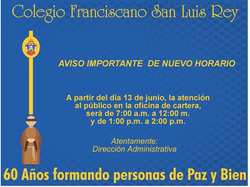 San luis rey for Oficina de correos horario de atencion al publico
